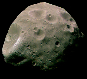 Phobos seen by Mars Express